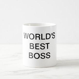 Världs bäst chefmugg kaffemugg