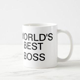 Världs bäst chefmugg vit mugg