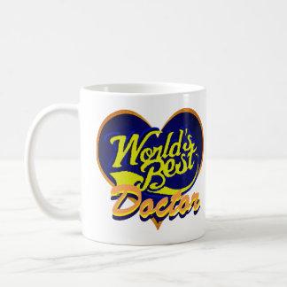 Världs bäst doktor kaffemugg