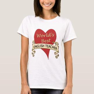 Världs bäst engelska lärare tröjor