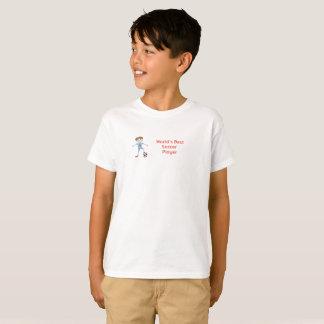 Världs bäst fotbollspelare t-shirt