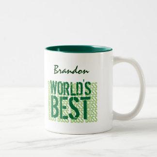 Världs bäst Grunge för chefgrönt som märker G457 Mugg