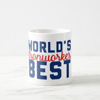 Världs bäst Ironworker Kaffemugg