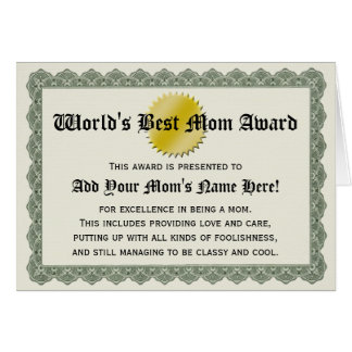 Världs bäst kort för certifikat för