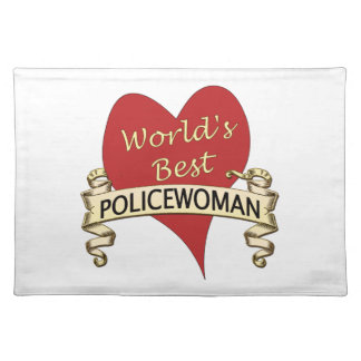 Världs bäst kvinnlig polis bordstablett