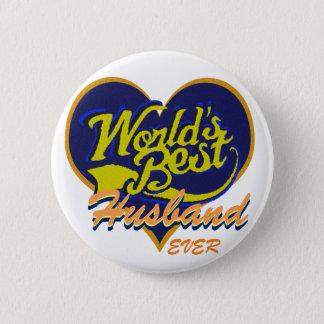 Världs bäst make standard knapp rund 5.7 cm