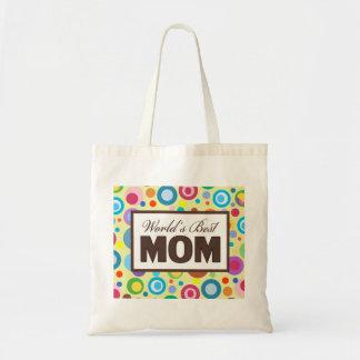 Världs bäst mamma tygkasse