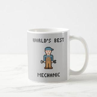 Världs bäst mekaniker kaffemugg