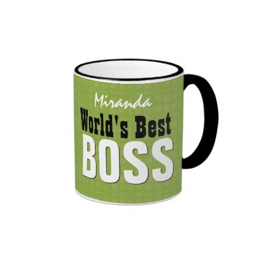 Världs bäst mönster V32A för CHEFgrönt Kaffe Mugg