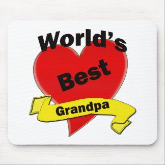 Världs bäst morfar musmatta