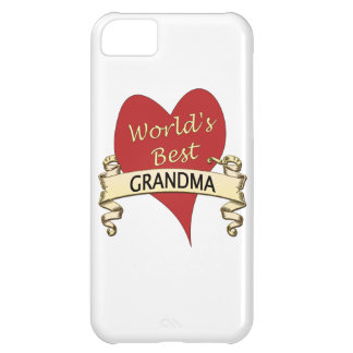 Världs bäst mormor iPhone 5C fodral
