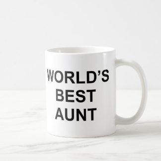 Världs bäst moster kaffemugg
