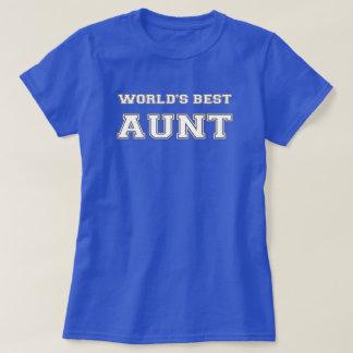 Världs bäst moster tee shirt