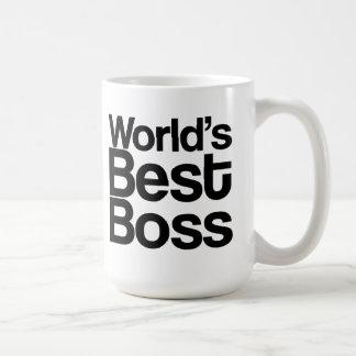 Världs bäst mugg för chefkaffe