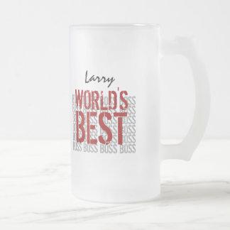 Världs bäst namn B20 för anpassningsbar för Frostad Glas Mugg