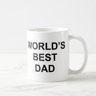 Världs bäst pappa vit mugg