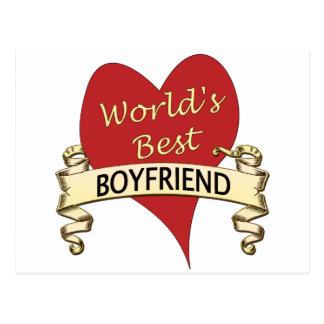 Världs bäst pojkvän vykort