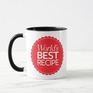 Världs bäst recept mugg