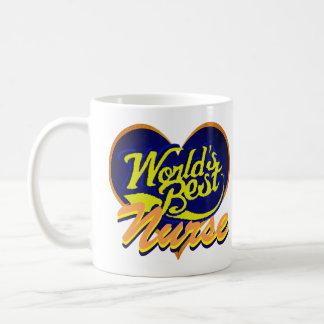 Världs bäst sjuksköterska kaffemugg