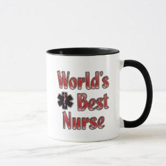 Världs bäst sjuksköterska mugg