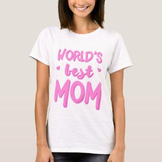 Världs bäst T-tröja för mammamors dag Tee Shirts