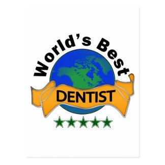 Världs bäst tandläkare vykort