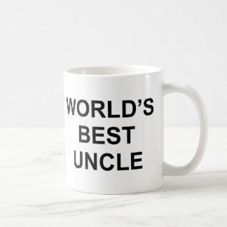 Världs bäst Uncle Vit Mugg