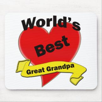 Världs bäst underbara morfar musmatta
