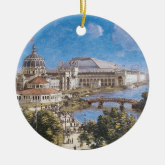 Världs colombianska utläggning av Theodore Julgransprydnad Keramik