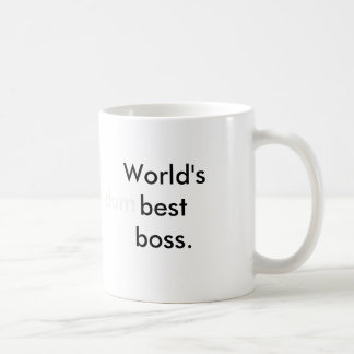 Världs (dum) bäst framstickande kaffe koppar