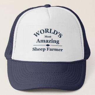 Världs fantastisk fårbonde truckerkeps