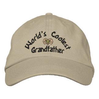 Världs kallast farfar broderade hatt