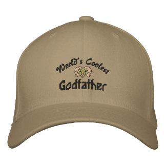 Världs kallast gudfader broderade hatt