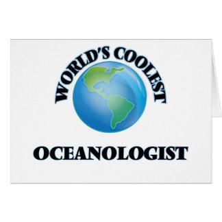 Världs kallaste Oceanologist Kort