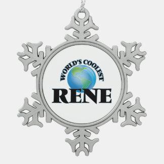 Världs kallaste Rene Julgransdekorationer