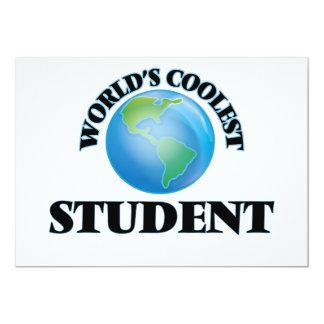Världs kallaste student inbjudan