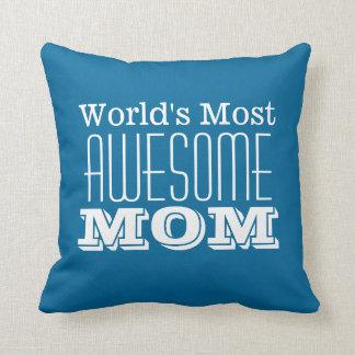 Världs MEST ENORM Mamma-Text design Kudde