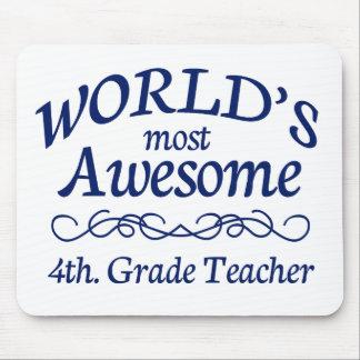 Världs mest enorma 4th. Klasslärare Musmatta