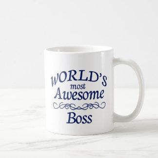 Världs mest enorma chef kaffemugg
