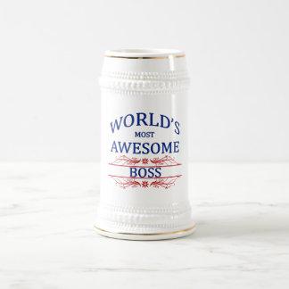 Världs mest enorma chef ölkrus