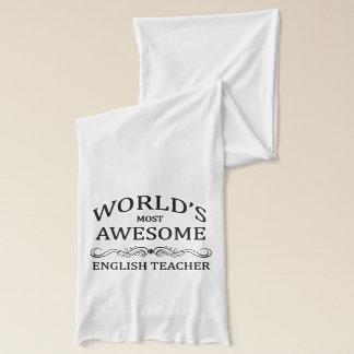 Världs mest enorma engelska lärare sjal