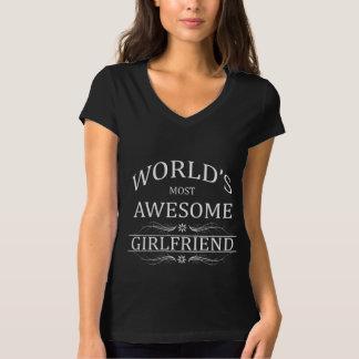 Världs mest enorma flickvän tee shirts