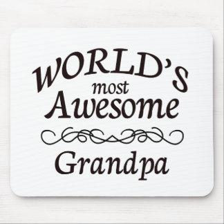 Världs mest enorma morfar musmatta