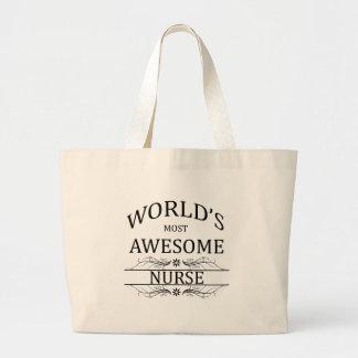 Världs mest enorma sjuksköterska jumbo tygkasse