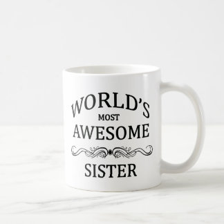Världs mest enorma syster kaffemugg