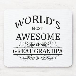 Världs mest enorma underbara morfar musmatta