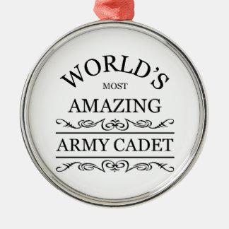 Världs mest fantastisk arméCadet Julgransprydnad Metall