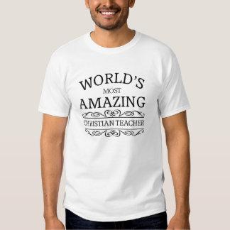 Världs mest fantastiska kristna lärare tröja