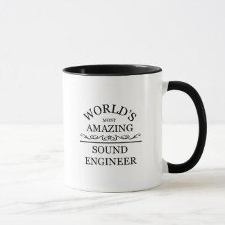 Världs mest fantastiska solida ingenjör mugg