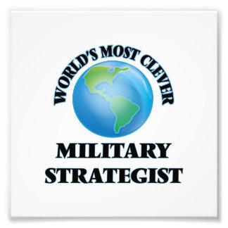 Världs mest klyftiga militära strateg konstfoto
